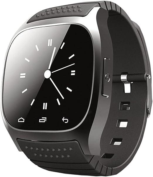 IPOTCH 1 Pieza Reloj Digital Unisex Muñequera de Actividad Física Dispositivos GPS Conecta con Android Dispositivos iOS