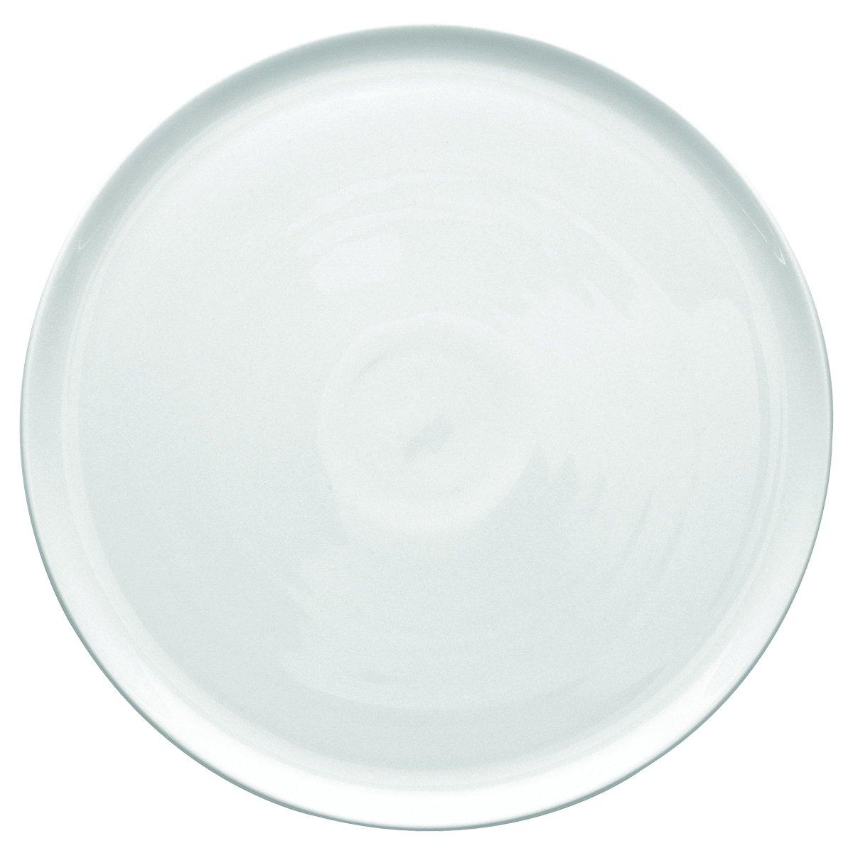 Guy Degrenne Modulo 136524, Piatto piano porcellana, 32 cm, Colore: Bianco