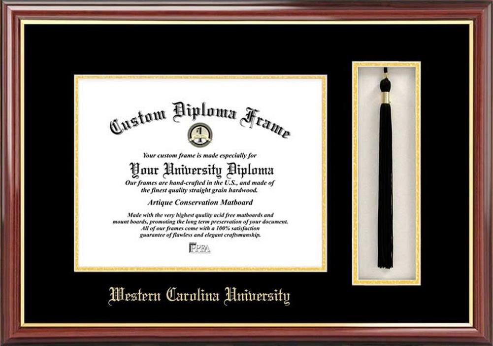 Campus Images Western Carolina universitytassel Box und Diplom ...