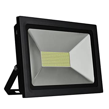Amazon solla 100w led flood lights outdoor security lights super solla 100w led flood lights outdoor security lights super bright floodlight waterproof led landscape spotlights mozeypictures Image collections