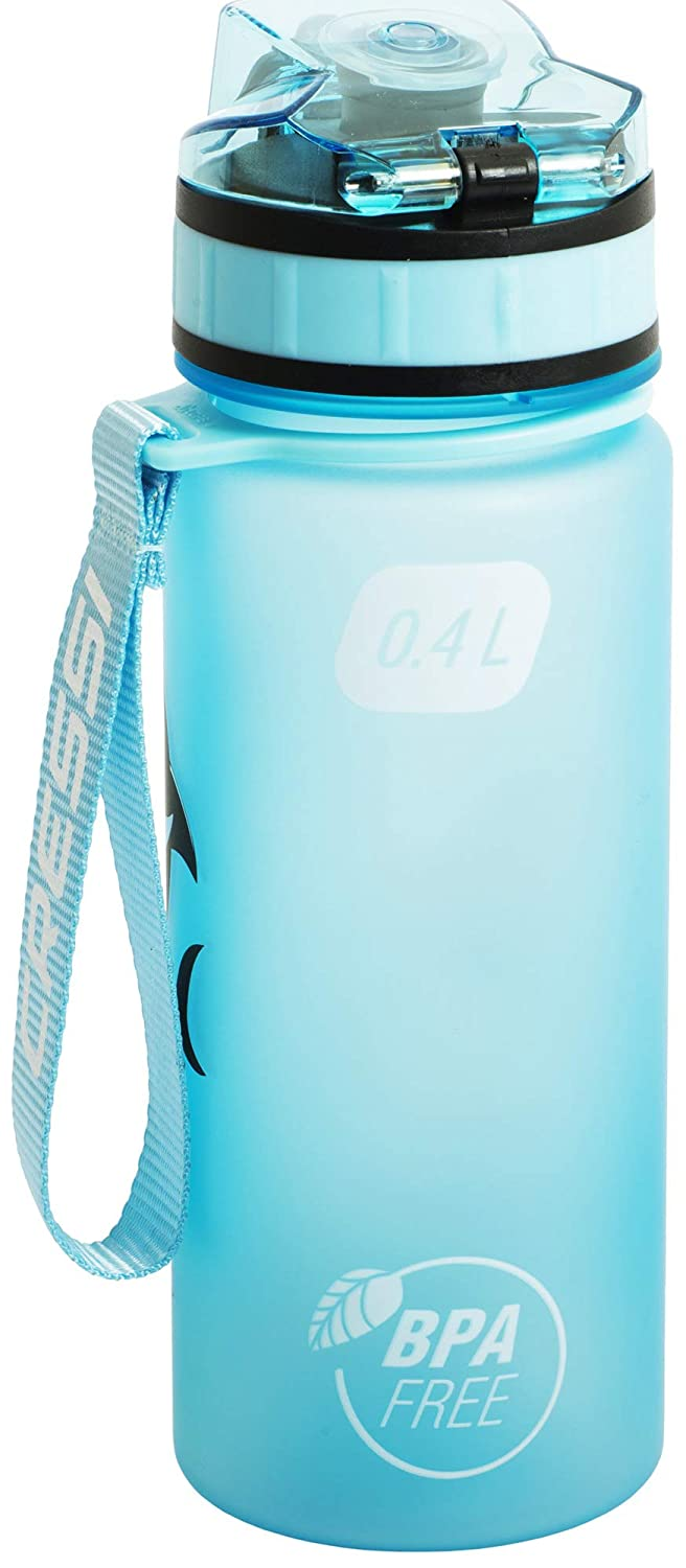 Cressi Water Bottle H20 Frosted Botella para Uso Deportivo Adultos Unisex