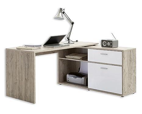 Scrivania Angolo Computer : Scrivania computer tavolo scrivania angolare angolo di tavolo
