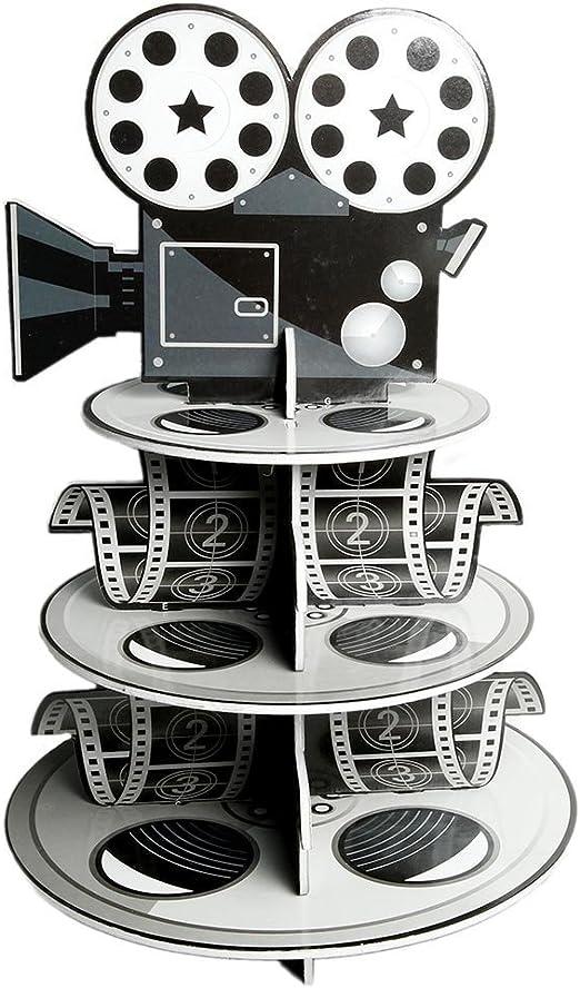 Movie Reel Cupcake Holder