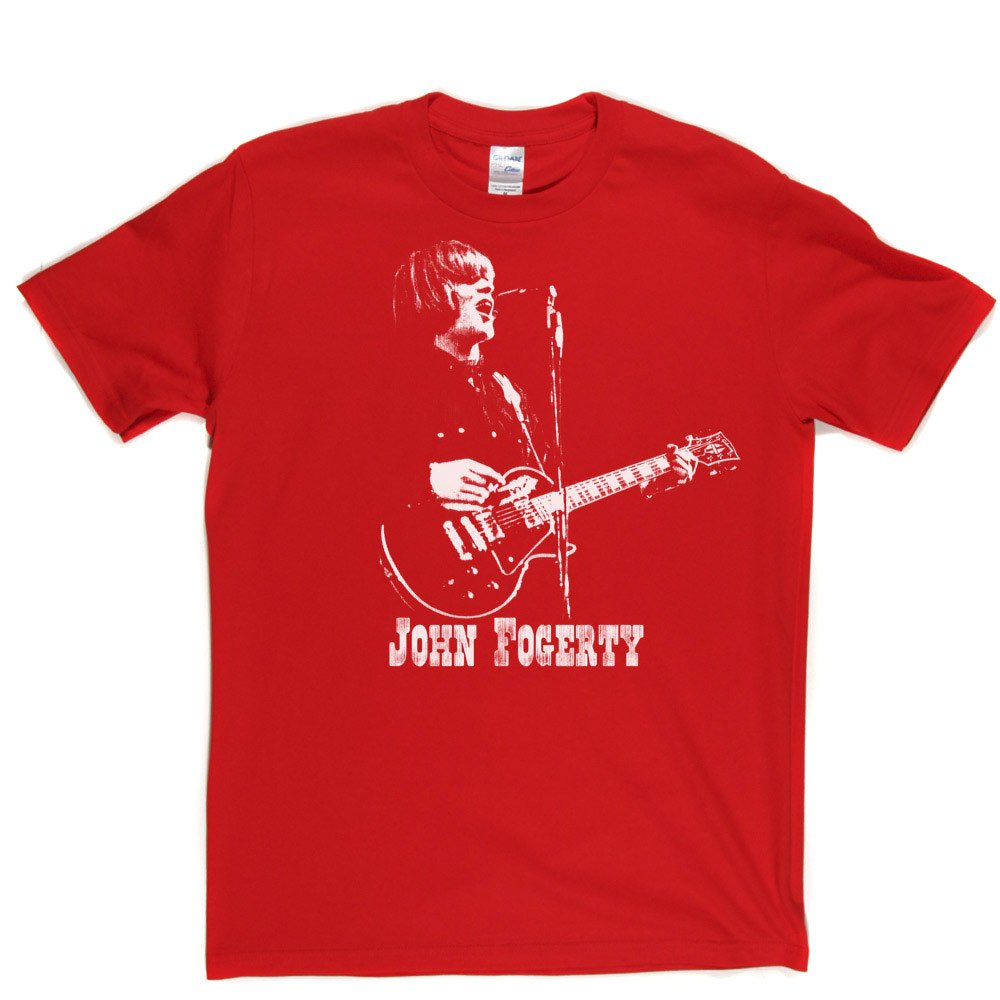 ca0f4e919 John Fogerty Creedence Clearwater Revival T-Shirt: Amazon.co.uk: Clothing