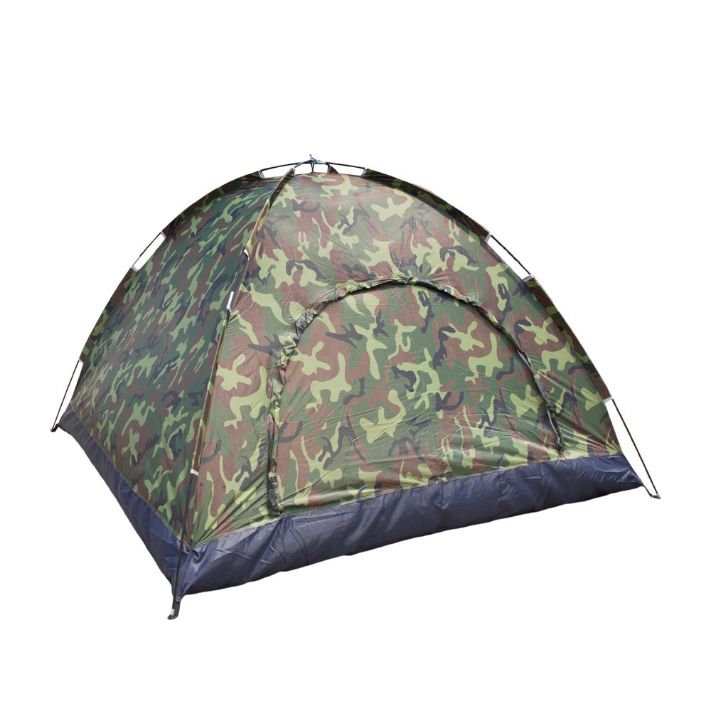CHYIR 3-4 Person Camping Dome Tent Camouflage