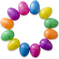 Juego de 12 huevos de Pascua, de colores