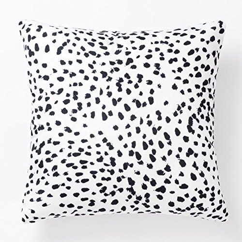 Pantaknot Set of 2 Dalmatian Spots Decorative Throw Pillow Covers Dog Dots Pillowcase Cushion Home Décor, 18 x 18 Inch