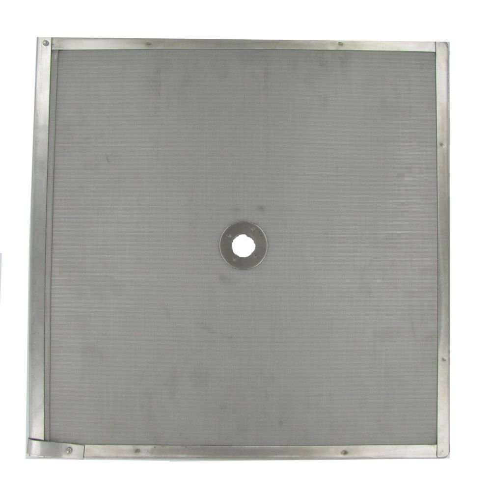 Permafil 103561 Stainless Steel 16'' x 16'' Perforated Filter Screen