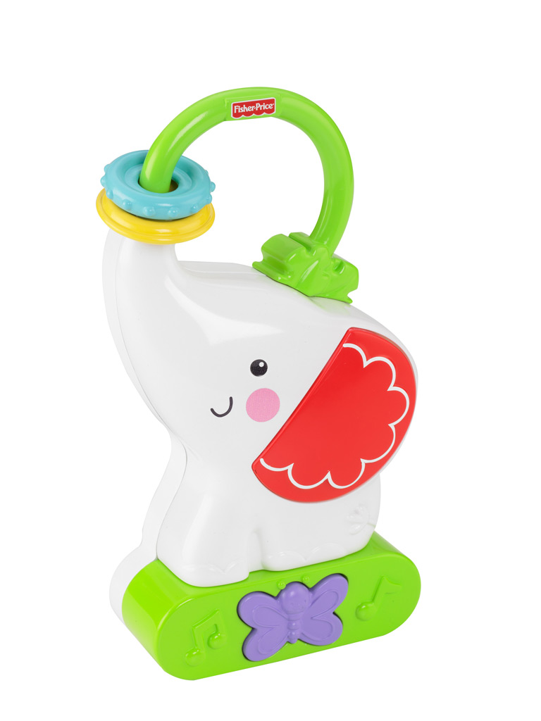 Amazon.com : Fisher-Price Tote 'n Glow Soother, Elephant : Baby