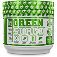 GREEN SURGE Green Superfood Powder Supplement - Premium Greens Drink w/Spirulina, Wheat & Barley Grass, More Organic Greens - Probiotics & Digestive Enzymes - 30 Keto Friendly Servings, Mixed Berry