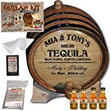 Personalized Outlaw Kit (Tequila) From American Oak Barrel - Design 064: Barrel Aged Tequila (3 Liter)