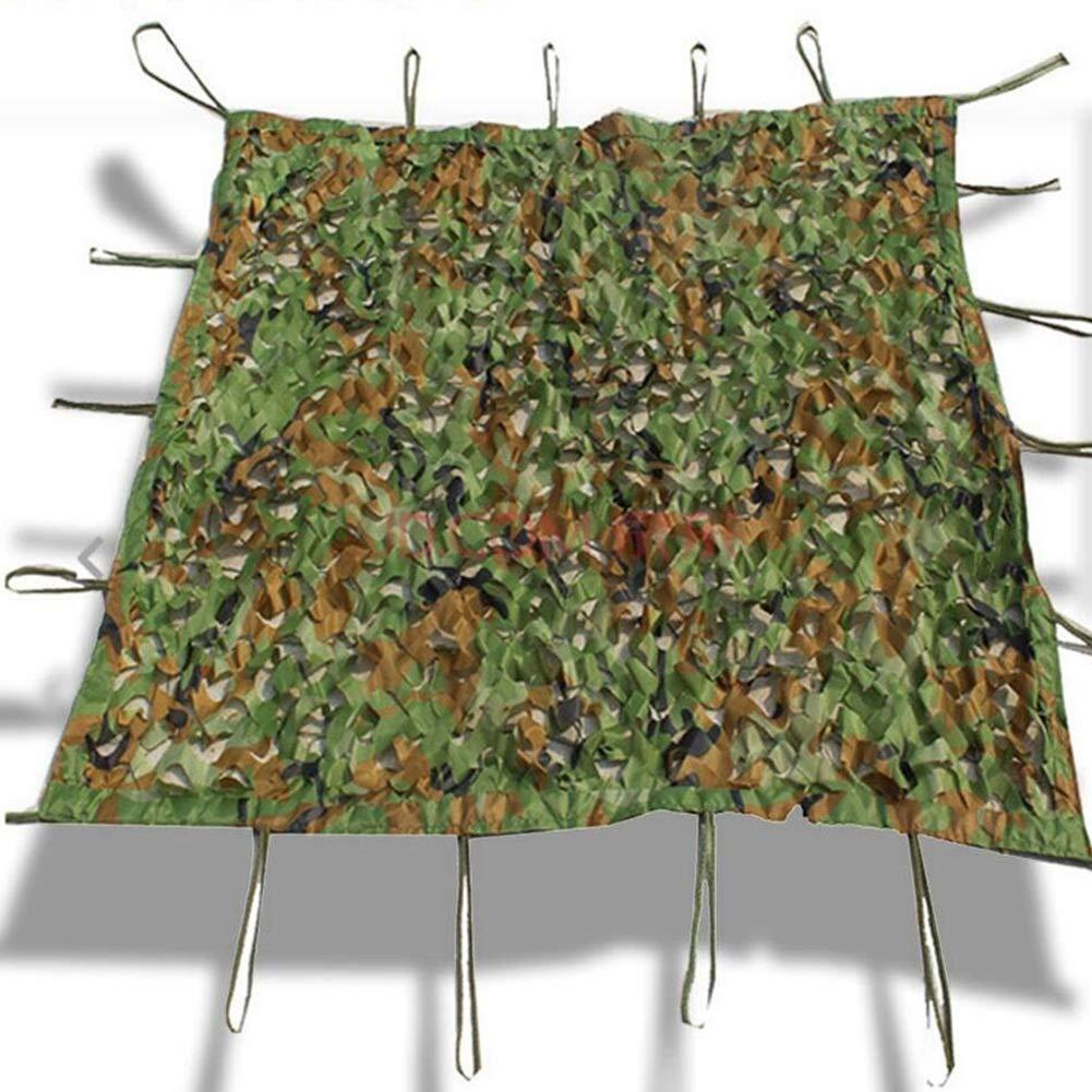 ジャングル迷彩ネット対空迷彩密固体補強ネットは、キャンプの森隠されたキャンプ避難テント迷彩カバー(1 * 1.5メートル)車の日除けとして使用することができます (サイズ さいず : 10*10m) B07QPNL21Z  4*6m 4*6m