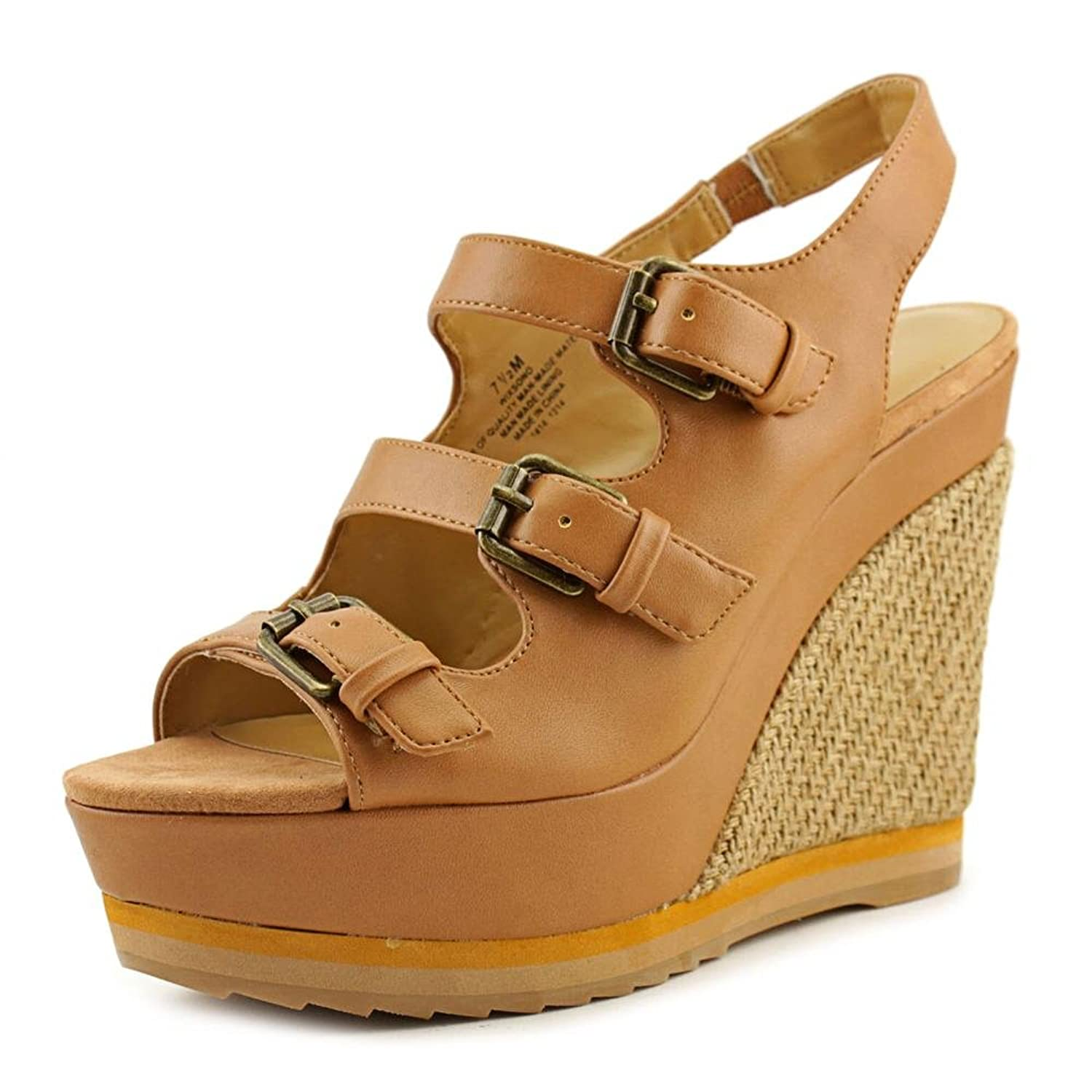 Nine West Wixsono Women Open Toe Synthetic Wedge Sandal