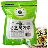ROM AMERICA [1 Pound ] Mung Bean Starch Powder Flour 청포묵 가루