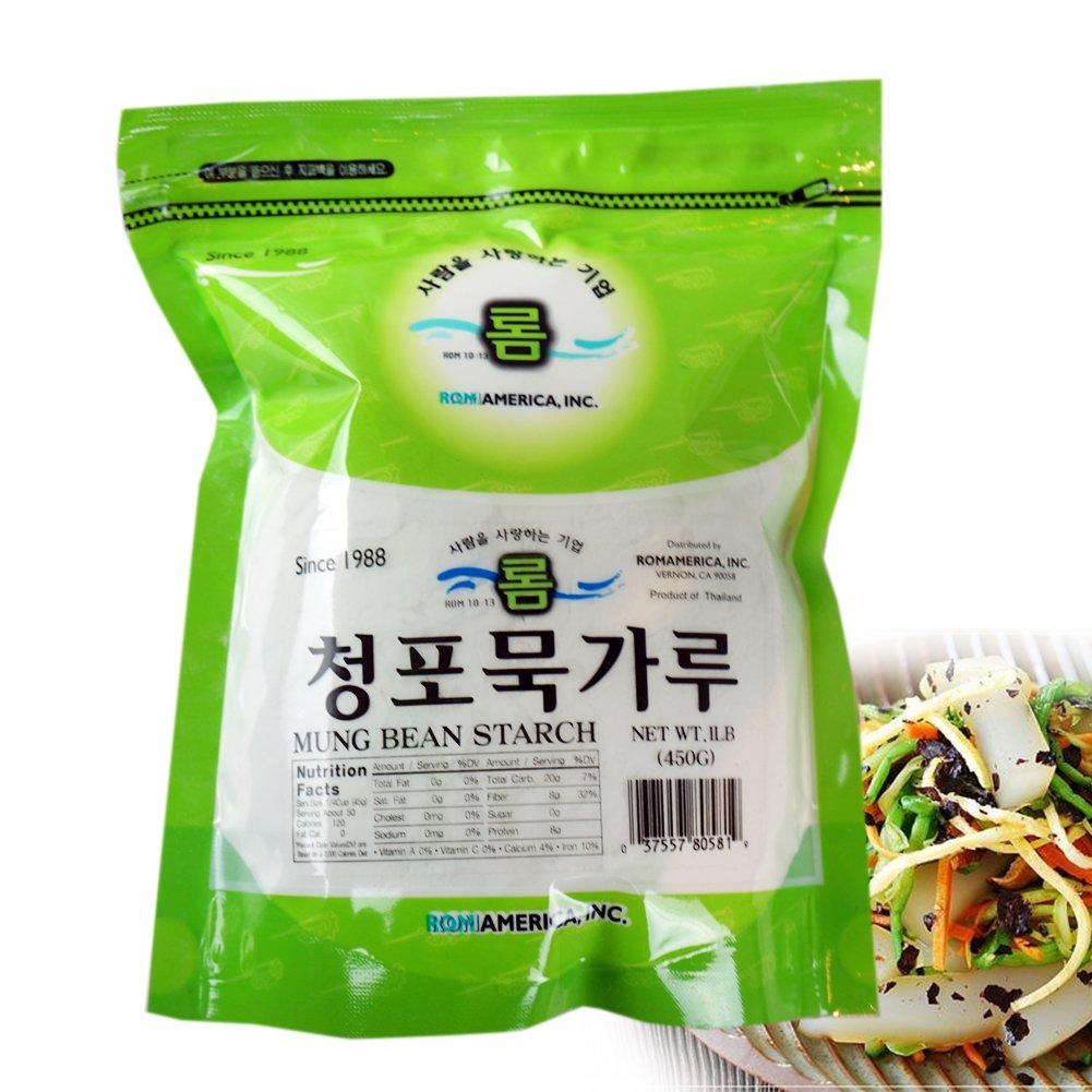 Amazon.com : assi Mung Bean Starch, 1 Pound : Wheat Flours