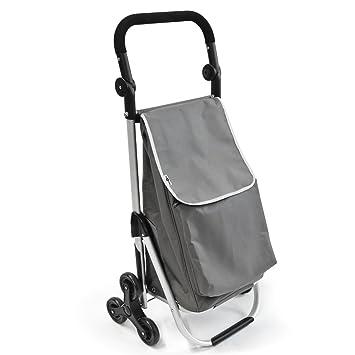 bremermann sube escaleras carro de la compra carrito de la compra STEIMKE (gris): Amazon.es: Hogar