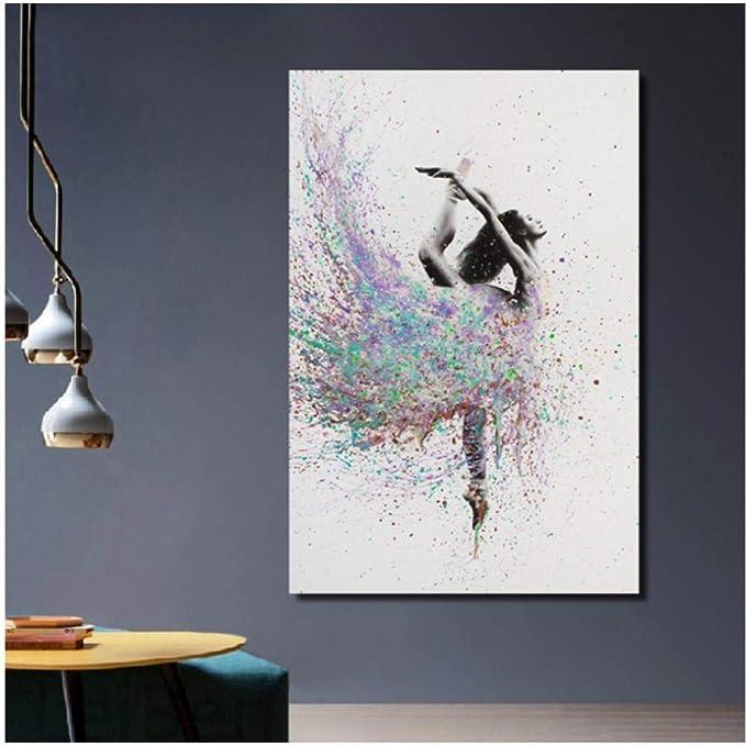 poster grafitti bailarina