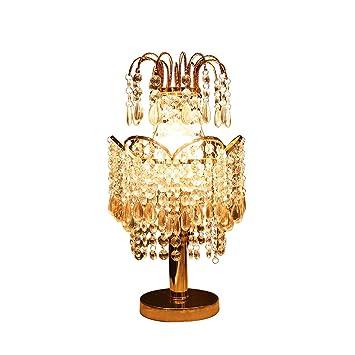 WarmHome Colgante de Cristal Lámpara de Mesa Forma de Corona ...