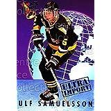 Ulf Samuelsson Hockey Card 1992-93 Ultra Import #20 Ulf Samuelsson