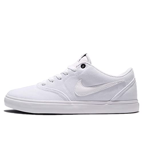 uk availability bbe23 c4154 Nike SB Check Solar Cnvs, Scarpe da Ginnastica Basse Uomo, Bianco (White Black  001), 39 EU  Amazon.it  Scarpe e borse