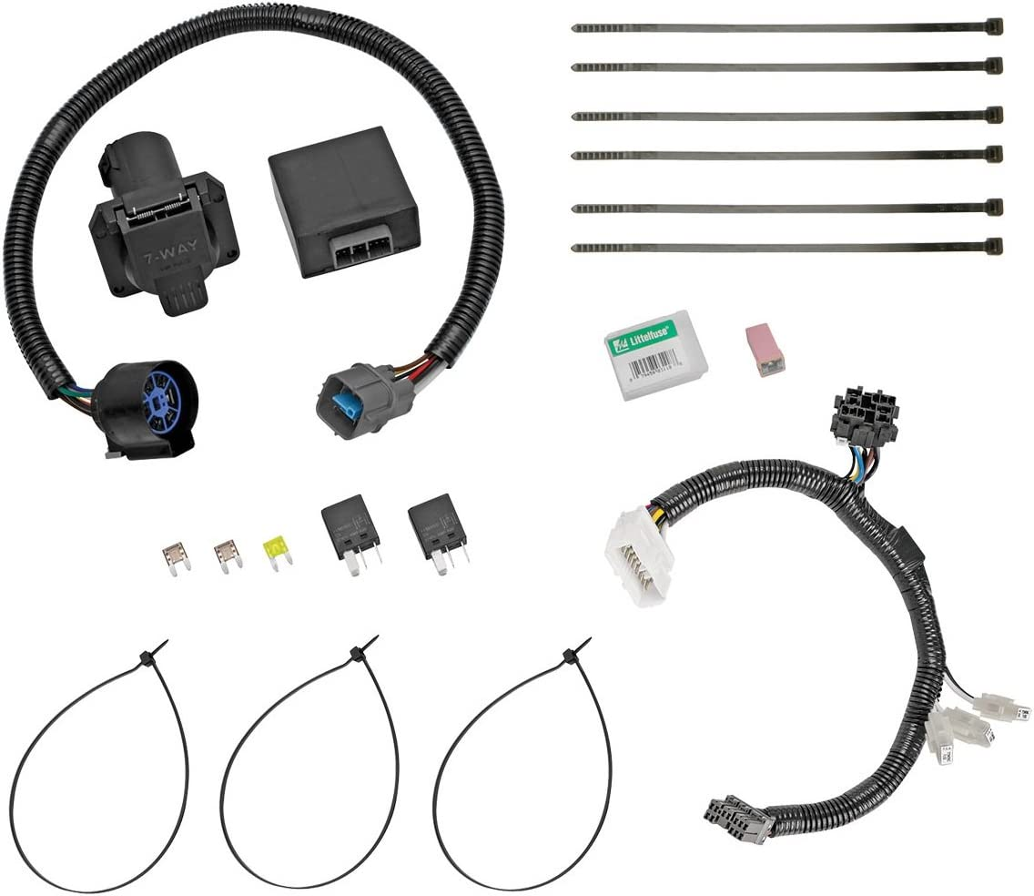 Amazon.com: Tow Ready 118265 Trailer Wiring Connector Kit for Honda Pilot:  AutomotiveAmazon.com