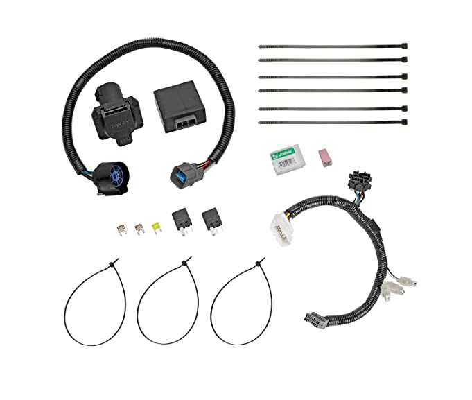 61CZMza0 zL._SX681_ amazon com tow ready 118265 trailer wiring connector kit for 56097 wire harness honda pilot at aneh.co