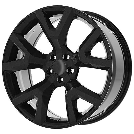 amazon 17 inch 17x7 5 replica 159gb trail hawk 5x110 31mm 15 Grand Cherokee amazon 17 inch 17x7 5 replica 159gb trail hawk 5x110 31mm gloss black wheel rim automotive