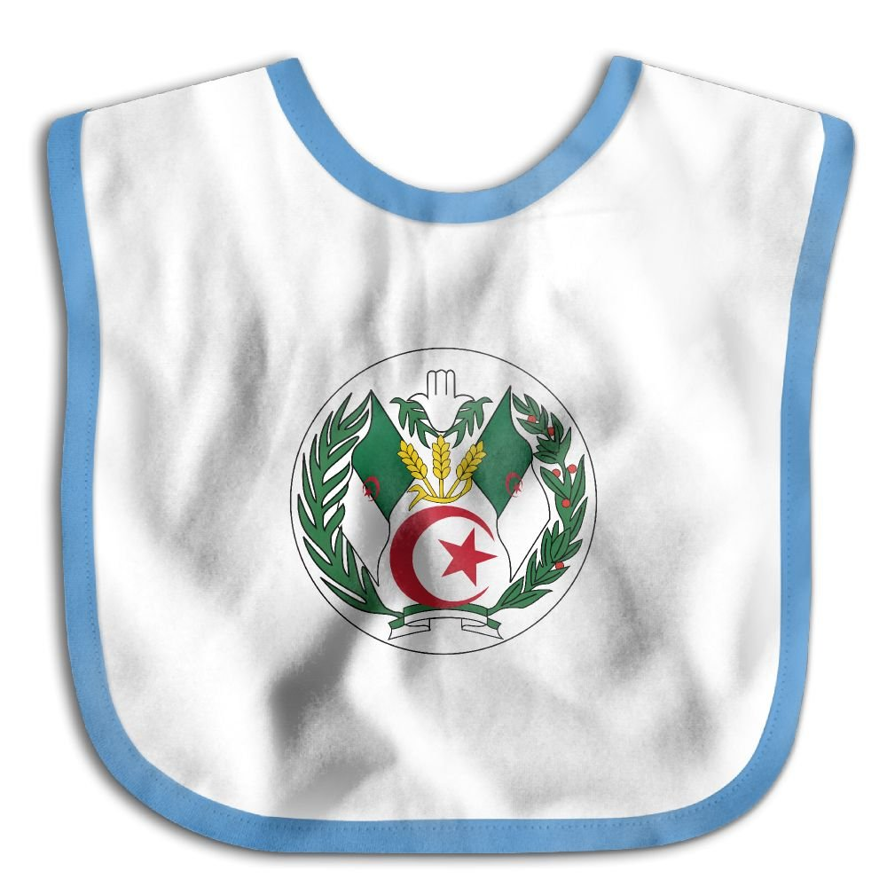 Marima Seal of Algeria Personalized Scarf Bib Feeding /& Teething Fancy Baby Bibs and Burp Cloth Polyester Cotton