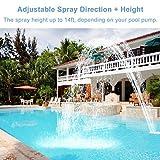 Pool Waterfall Spray Pond Fountain - Water Fun