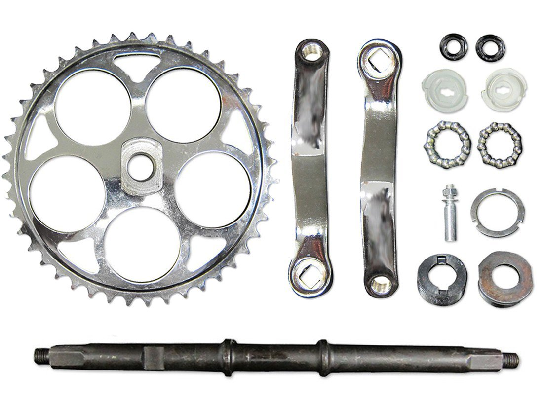 Wide Crank Assembly 2 Stroke Bicycle Engine Kit Replacement Part Motorized Bike Flying Horse
