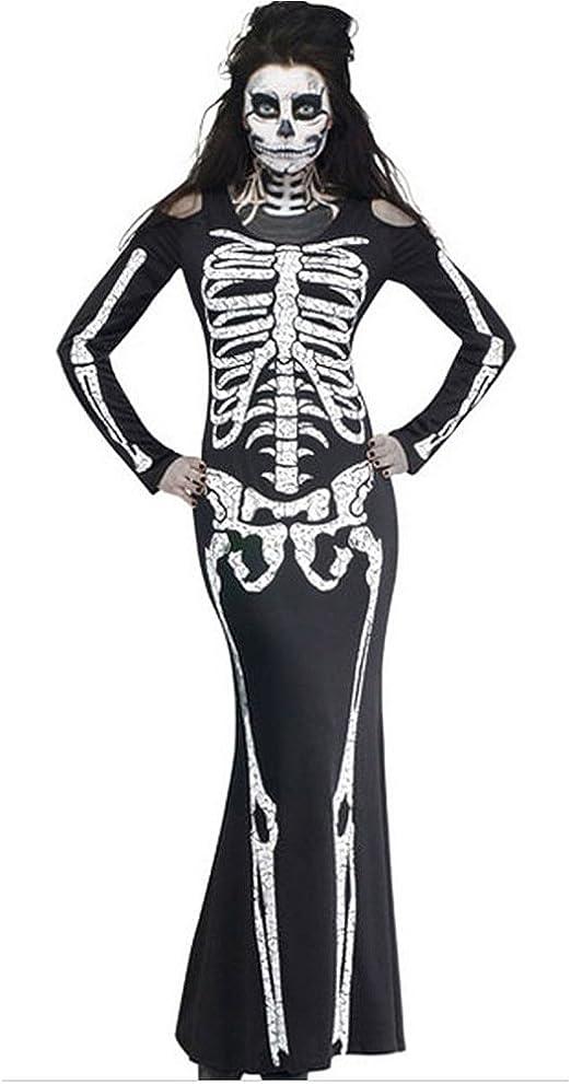 GHTWJJ Disfraz De Halloween para Mujer Cosplay Juego De rol ...