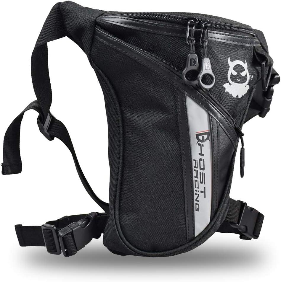 Bolso de La Pierna, FansportBolso de la Cadera Bolsa de Lona de la Cintura Muslo Pack para IR de Excursión Escalada Motocicleta Ciclismo