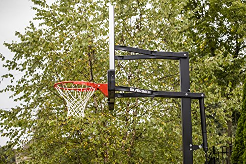 Silverback 54 Quot In Ground Height Adjustable Basketball