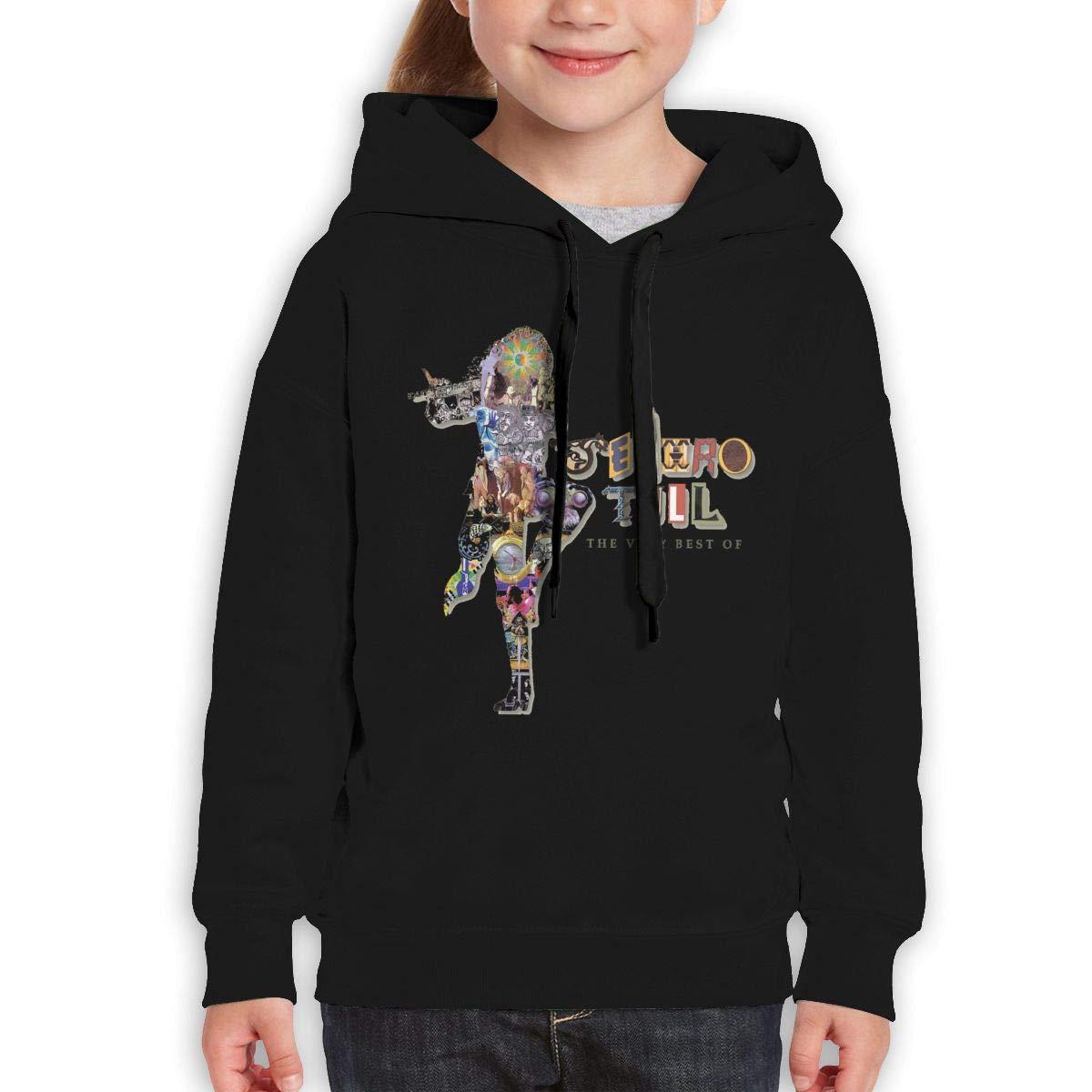 Guiping The Very Best of Jethro Tull Teen Hooded Sweate Sweatshirt Black