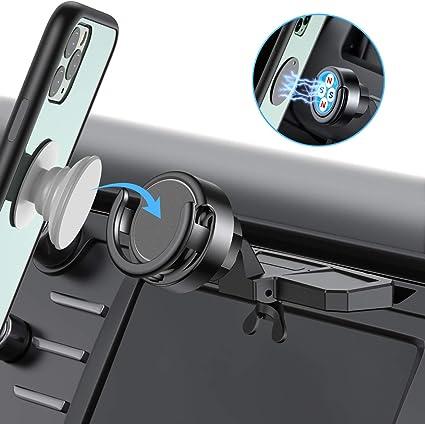 Miracase Kfz Handyhalterung Mit Cd Schlitz 2 In 1 Magnetischer Pop Griff Ständer Handy Halterung Für