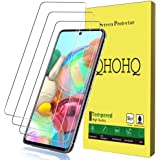 [3-Pack] QHOHQ Compatible Screen Protector for Samsung Galaxy A71 4G/Galaxy A71 5G/Galaxy S10 Lite/Galaxy Note 10 Lite…