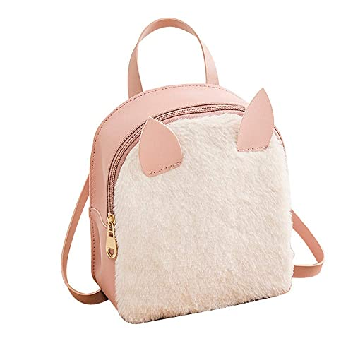 Amazon.com  AgrinTol Rabbit Hair Horn Shoulder Bag Mobile Phone Bag Purse  Shell Type Messenger Bag  Shoes ef1a91abdfb6c