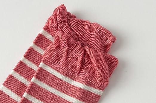 KEKEOCIA 5pcs Unisex Baby Infant Colorful Leg warmer Toddler Loose Knee High Sock