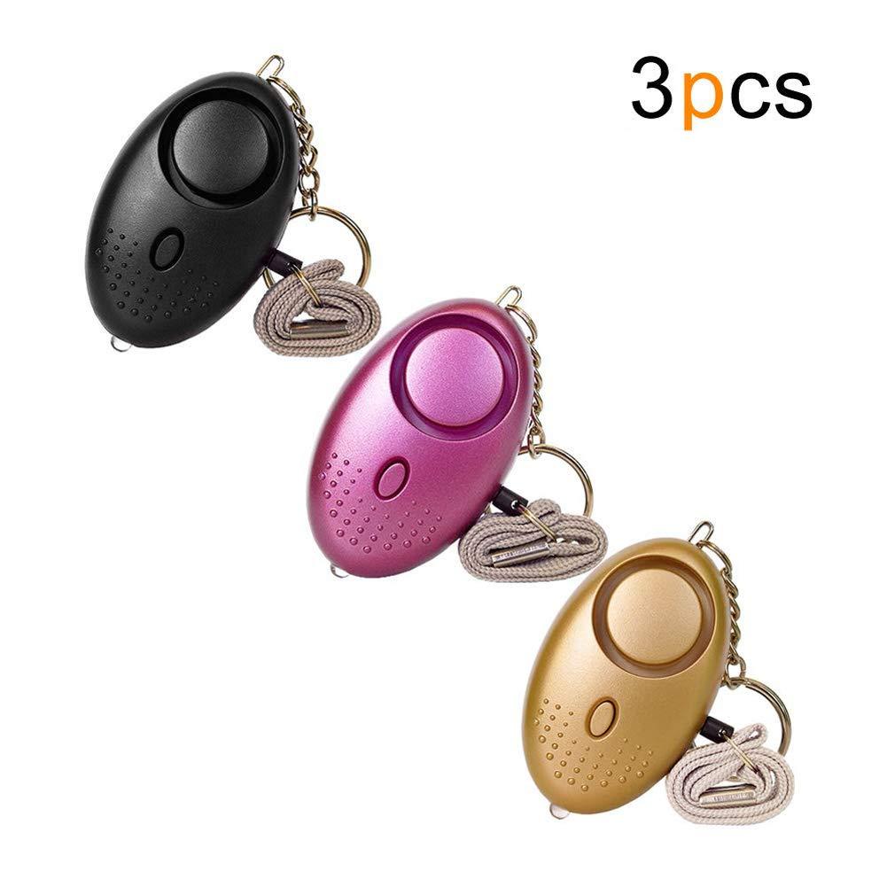 130 dB alarma personal de seguridad llavero de seguridad ...