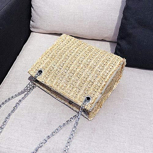 Quadratische Häkeln Handtasche Kette Shoulder Schulter Für Crossbody