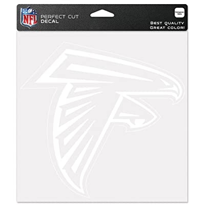 "WinCraft NFL Atlanta Falcons WCR25669014 Perfect Cut Decals, 8"" x 8"" : Automotive Decals : Sports & Outdoors"