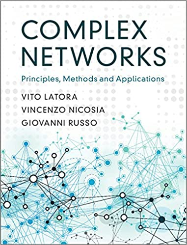 Neuronal Barcodes Shape Complex Networks In The Brain >> Complex Networks Principles Methods And Applications Vito Latora