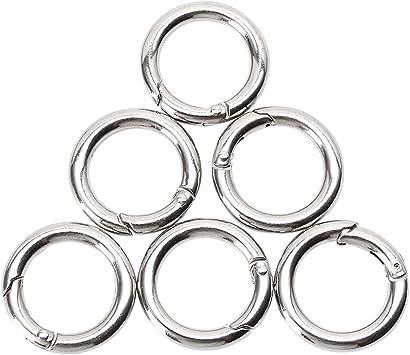 Schnapphaken Karabinerhaken Verbinder Schlüssel Ring  Ellipse