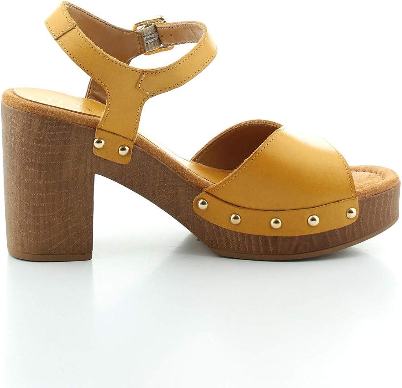 Unisa Taco_ran, Sandales Plateforme Femme Mustard