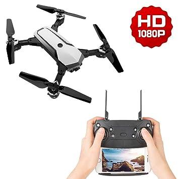 LJXWXN Drone WiFi FPV Quadcopter con Cámara 1080P HD con Follow Me ...