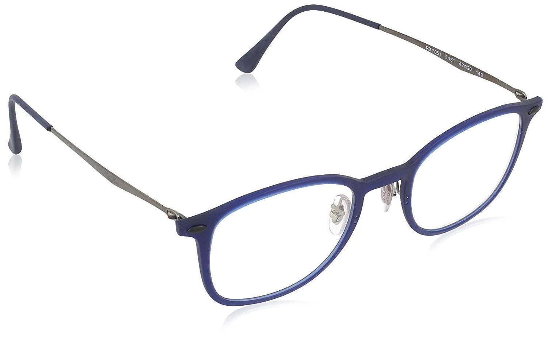 Ray-Ban Vista RX 7051 5451 Eyeglasses Matte Dark Blue Luxottica RX7051 MOD.7051FRAME545147_5451-47