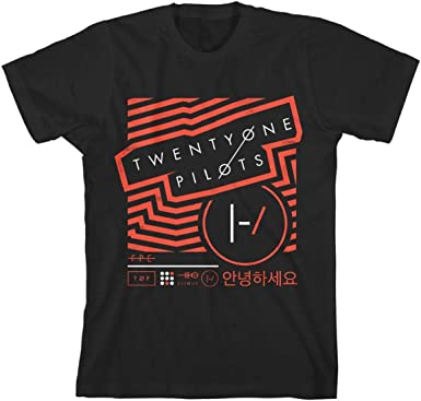 XL, Black) - Official Twenty One Pilots Vertigo T Shirt (Black): Amazon.es: Ropa y accesorios