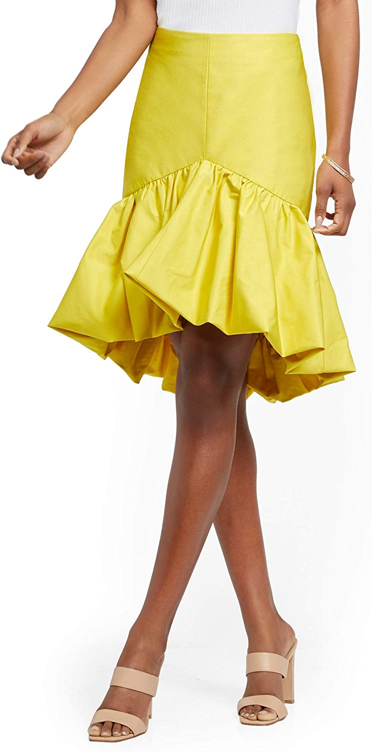 New York & Co. Women's High-Low Bubble Skirt - 7Th Avenue