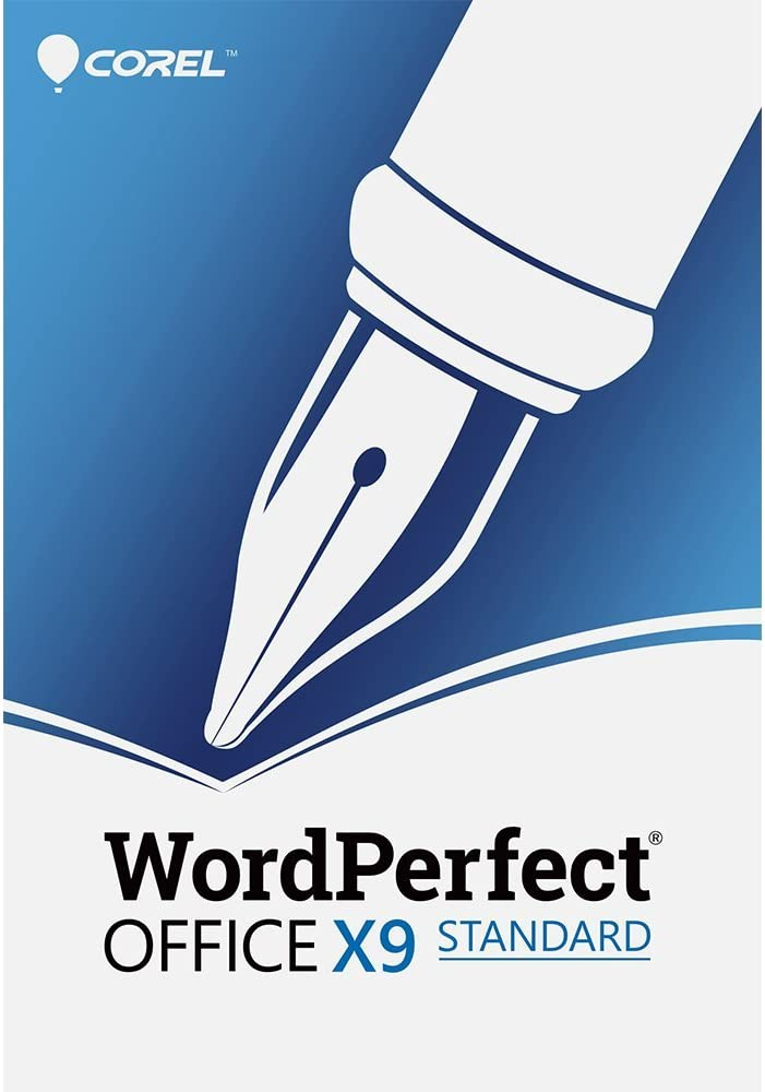 Corel WordPerfect Office X9 - All in One Office Suite - Upgrade [PC Download]