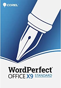Corel Wordperfect Office X9 - All In One Office Suite [PC Download]